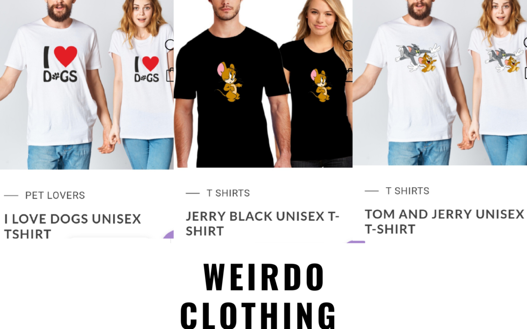 "Delhi NCR based Ecommerce Startup ""WEIRDO"" setup new trend to provide Custom T-shirt and Quirky T-shirt"